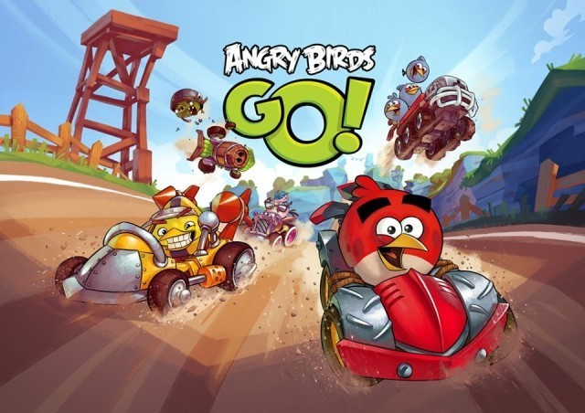 Angry Birds Go! gets long-awaited multiplayer mode