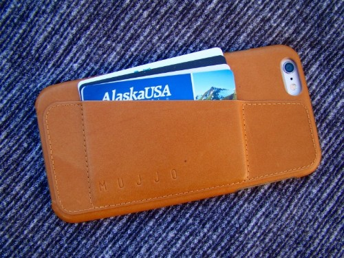 iPhone-hugging leather case won't go soft around the edges