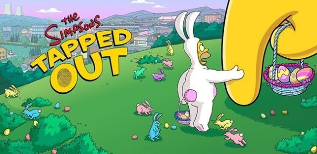The Simpsons: Tapped Out Gets An Egg-cellent Easter Overhaul