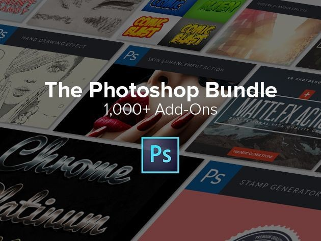 Design better graphics with The Premium Photoshop Add-On Bundle [Deals]