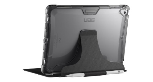 UAG's translucent folio case protects your iPad while showing it off