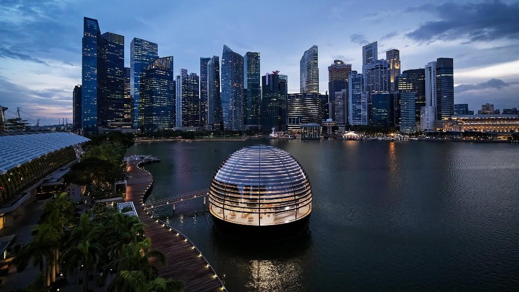 New Apple Marina Bay Sands store simply screams innovation