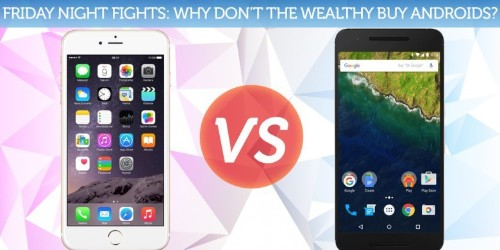Is there a class divide between iPhone and Android?