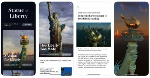 New Statue of Liberty app lets you explore the iconic landmark in AR