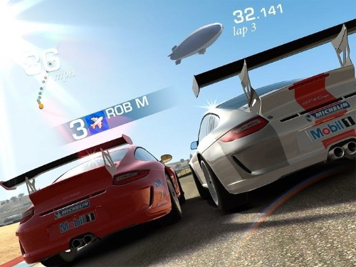 Real Racing 3 Update Adds Realtime Multiplayer