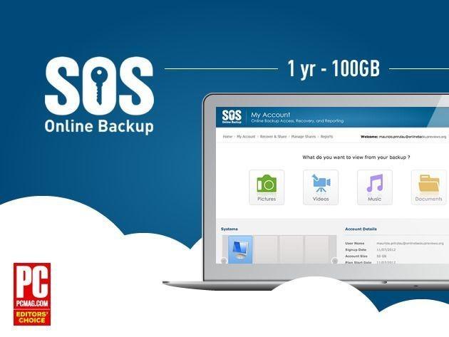 Securely Backup Your Digital World With SOS Online Backup [Deals]