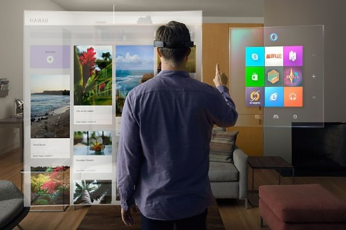 Microsoft has seen the future, and the future is holograms