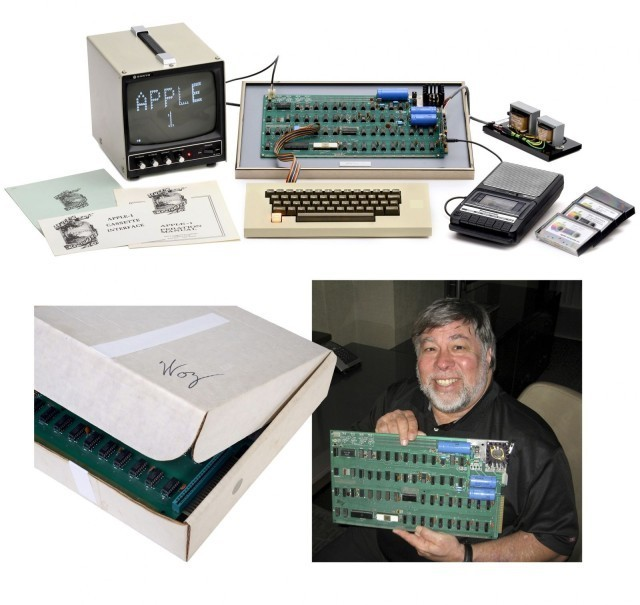 Apple 1 Sold for $330k After Auction Close