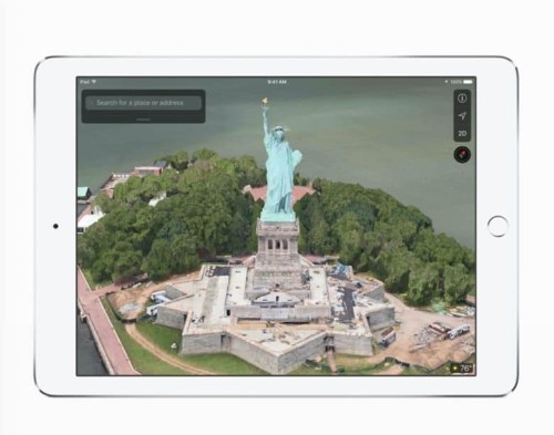 iOS 11 brings VR mode to Apple Maps using ARKit