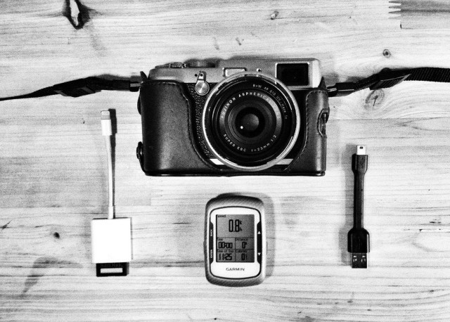 Add GPS to your dumb camera photos using your iOS device