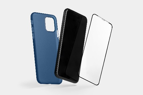 Screen protector and thin case by Totallee seamlessly protect iPhone 11, 11 Pro and 11 Pro Max