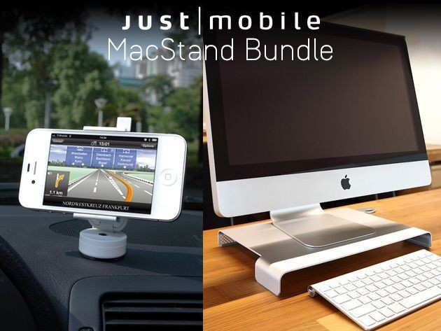 The Award-Winning MacStand Bundle: The Perfect Holiday Gift For The iMac And iPhone Owner [Deals]