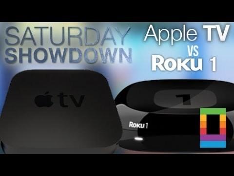 Saturday Showdown: Apple TV vs Roku 1