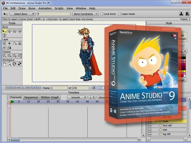 Anime Studio Debut 9 For Mac: Everything You Need To Make Amazing Animations [Deals]