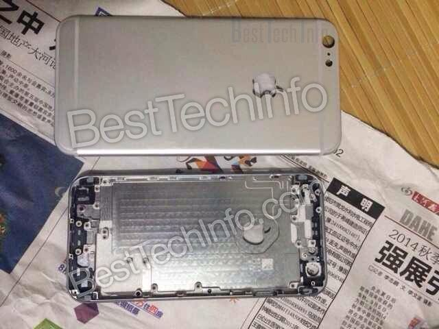New leak compares 5.5-inch iPhone 6 to 4.7-inch shell