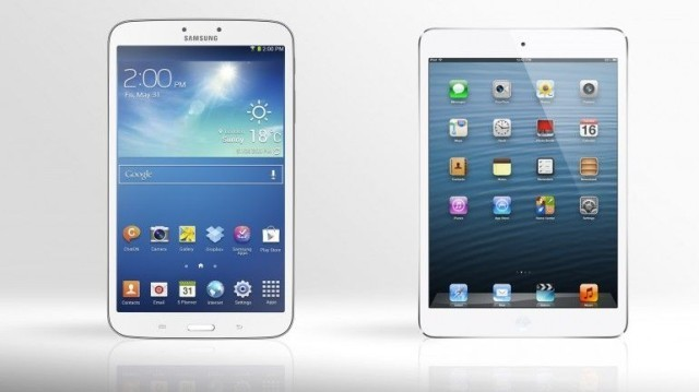Samsung Galaxy Tab 3 Shamelessly Rips Off The Design Of The iPad Mini [Image]