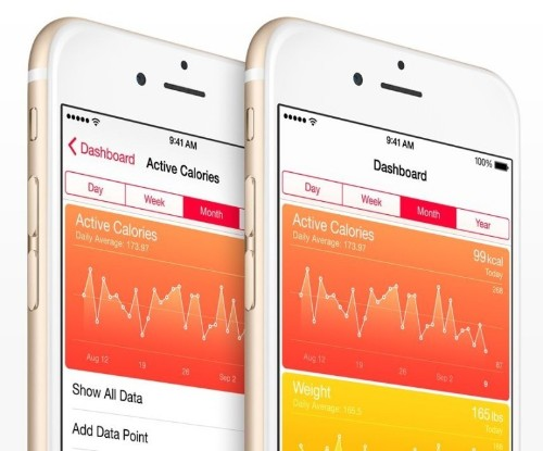 iTunes highlights HealthKit-ready fitness, nutrition, and medical apps