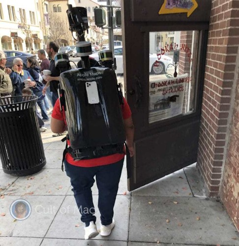 Upgraded Apple Maps backpack rig uses iPhone 11 Pro for image capture | Cult of Mac