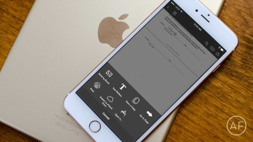 How to sign, scan and send PDFs with an iPhone or iPad