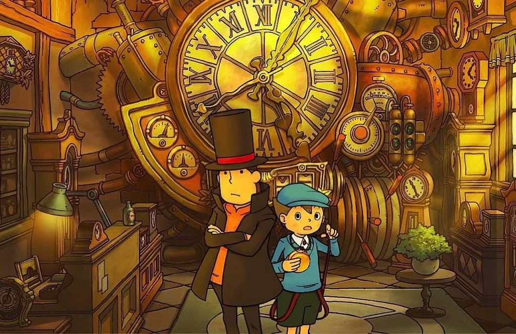 Another Professor Layton puzzle-adventure is coming to iOS this month