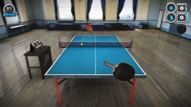 Table Tennis Touch captures all of the fun of ping-pong with none of the humiliation