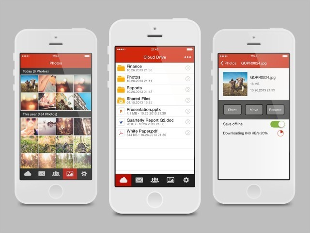 Kim Dotcom's Mega Launches Official iPhone App For File Sharing