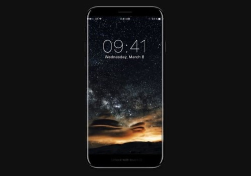 Sleek iPhone 8 concept shows how 'Function Bar' might work