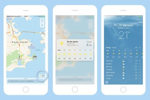 How to use 3D Touch in Maps to see the weather anywhere