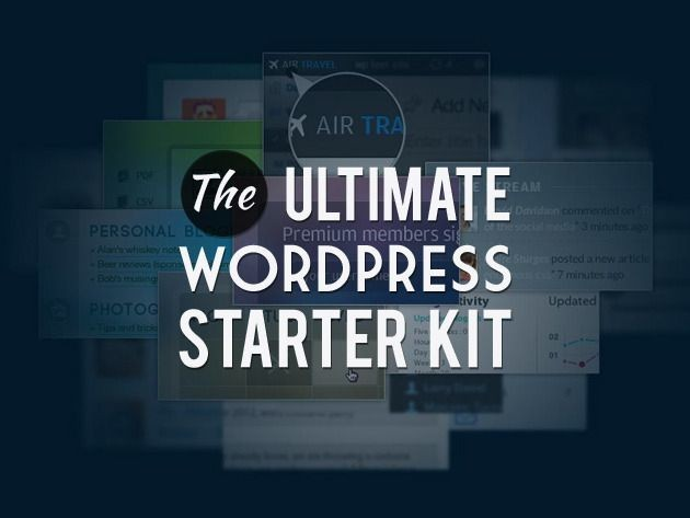 Create Remarkable Websites With The Ultimate WordPress Starter Kit [Deals]