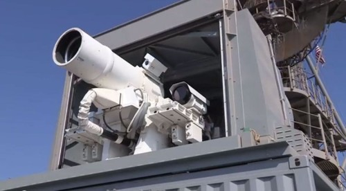 Navy's laser weapon zaps drones out of sky for $1 per shot