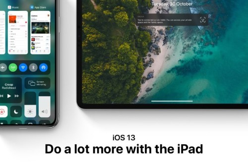 iOS 13 concept gives iPad the features it desperately needs