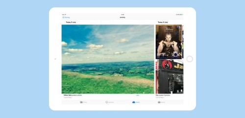 How to use Photos' Shared Albums for team projects