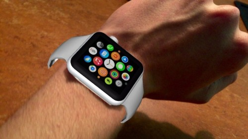 You can wear a virtual Apple Watch right now