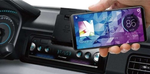 Pioneer transforms your iPhone into an in-dash car display