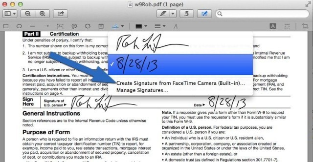 How To Sign A PDF Form On Your Mac Without Printing It [OS X Tips]