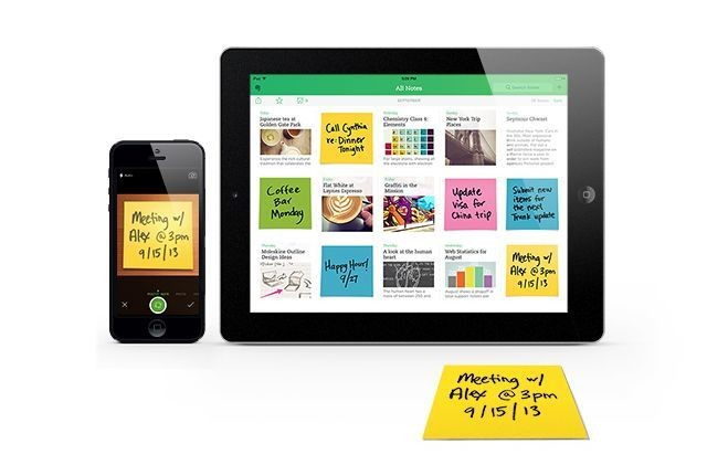 Evernote's New Post-It Camera Makes Your Stickies Searchable