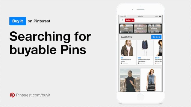 Pinterest will become a giant store thanks to buy buttons