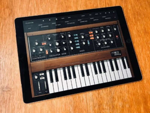 Moog brings world's first portable synth to iPad