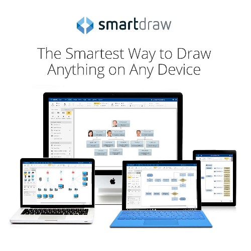SmartDraw finally makes it to Mac (via the cloud)