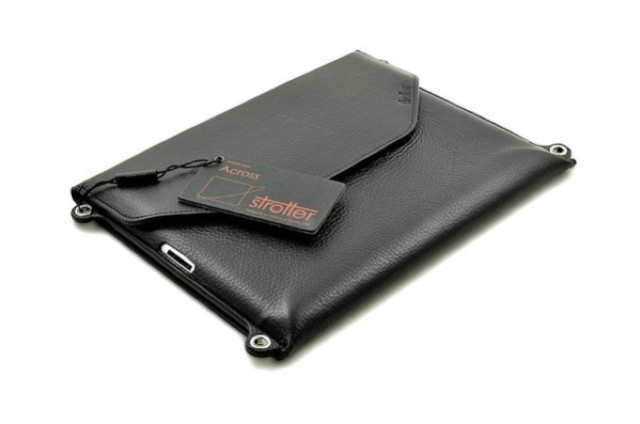 Slim Leather iPad Sleeve Doubles As Sling Bag And Backpack