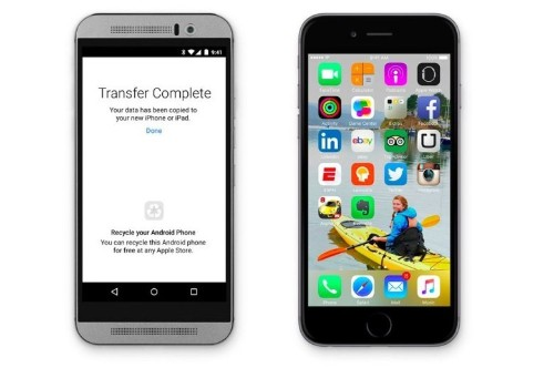 Apple's new 'Move to iOS' app helps Android users switch to iPhone