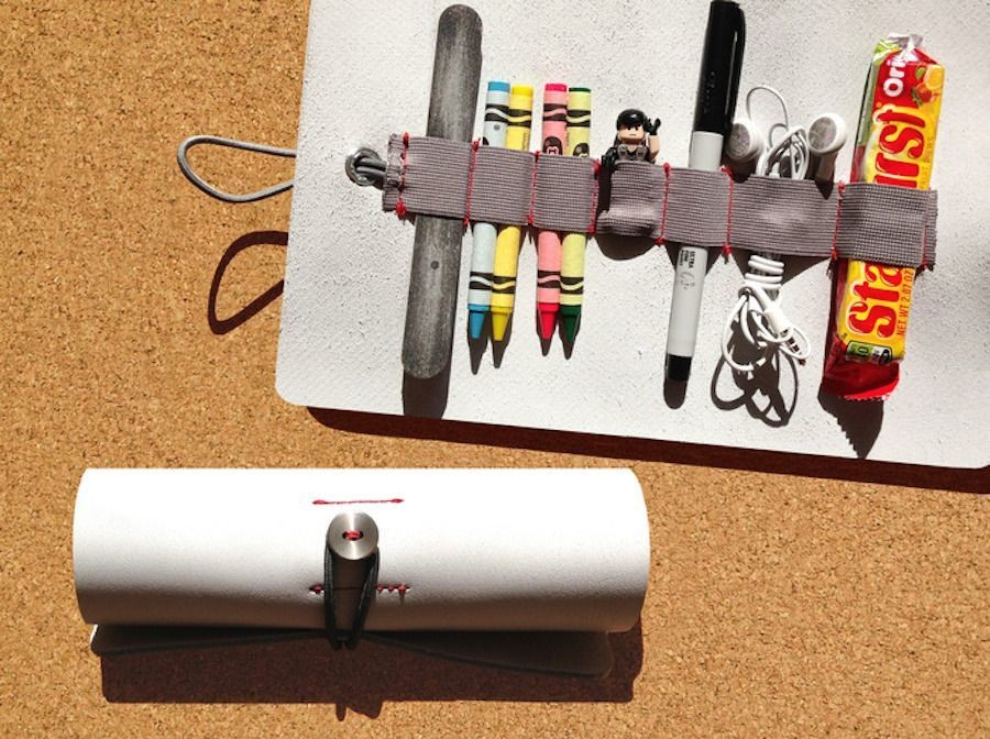 Ledr is sort of a leather fruit roll up to hold your longish, smallish equipment | Cult of Mac