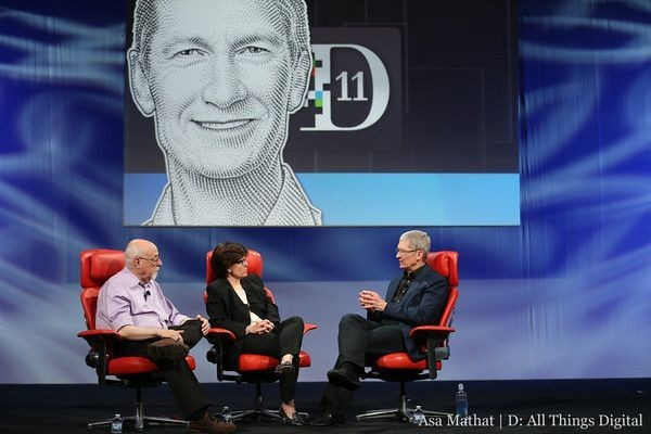 Tim Cook Cheers Apple And Avoids Product Details At D11 [Roundup]