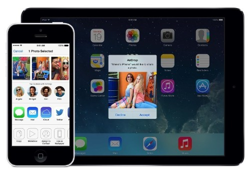 Use AirDrop to share files between OS X Yosemite and iOS 8