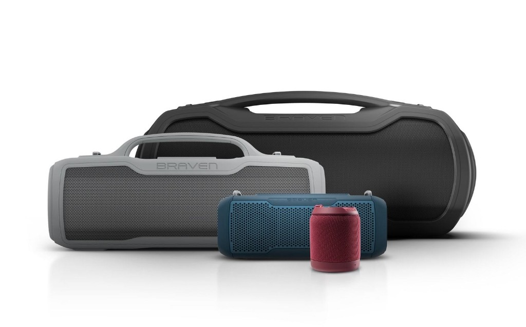 Braven's newest Bluetooth speakers are shockproof and waterproof