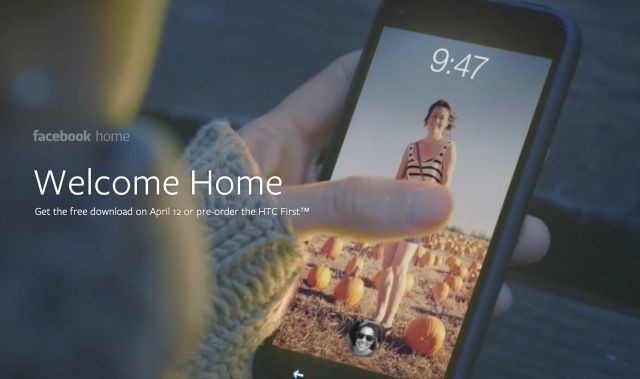 "Facebook Unveils ""Home,"" Its New Android Experience Coming April 12th"