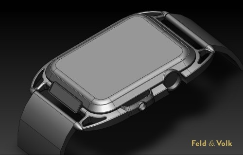 Apple Watch gets fashionable in carbon-fiber concept