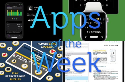 The best nap, notes, Apple Watch-keyboard and memory-game apps this week | Cult of Mac