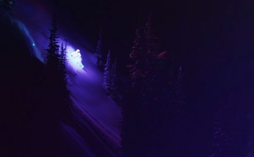 Sublime night-skiing video shows off brilliant LED technology