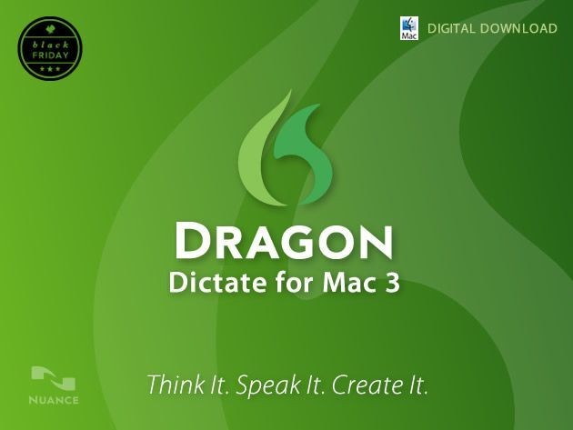 Ending Soon: Dragon Dictate For Mac 3 [Deals]